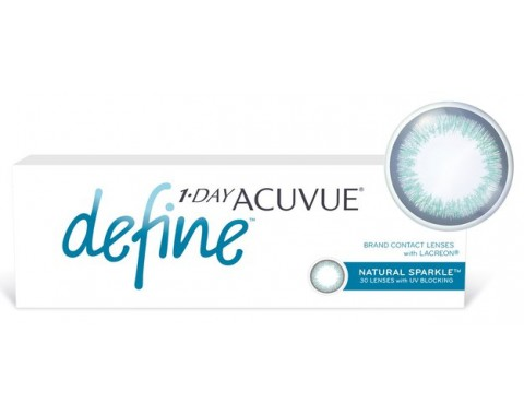 Контактные линзы 1-DAY ACUVUE Define sparkle 30 pk