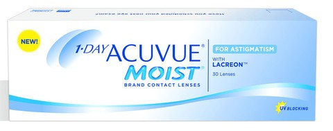 Контактные линзы 1-DAY ACUVUE Moist for Astigmatism 30 pk