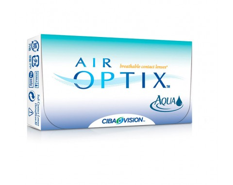 Контактные линзы AIR OPTIX AQUA 1 линза