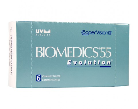 Контактные линзы Biomedics 55 Evolution 1 линза