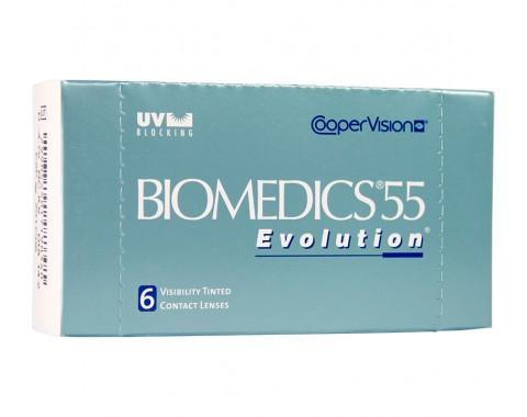 Biomedics 55 Evolution UV 1 линза