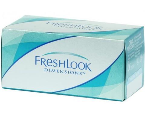 Цветные контактные линзы FRESHLOOK DIMENSIONS 1 линза