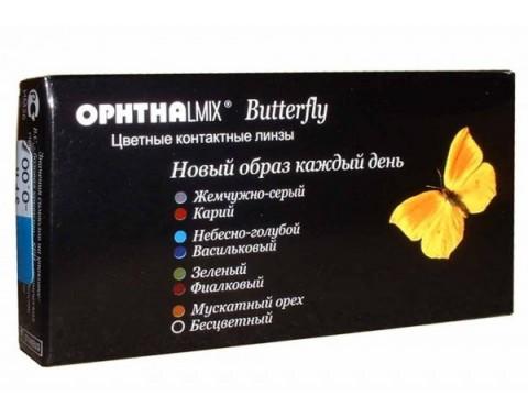 Цветные контактные линзы Офтальмикс BUTTERFLY 1 линза