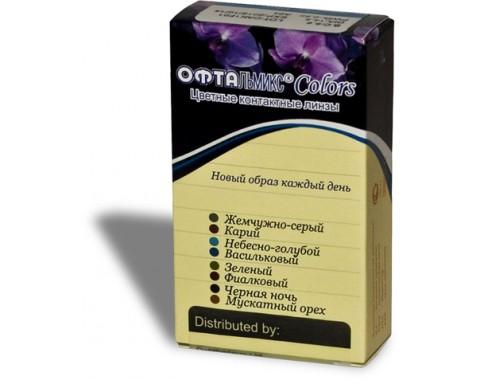 Цветные контактные линзы Офтальмикс COLORS 1 линза